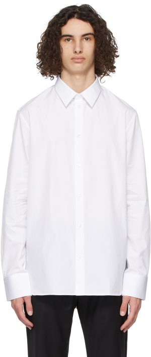 The Row White Jasper Shirt