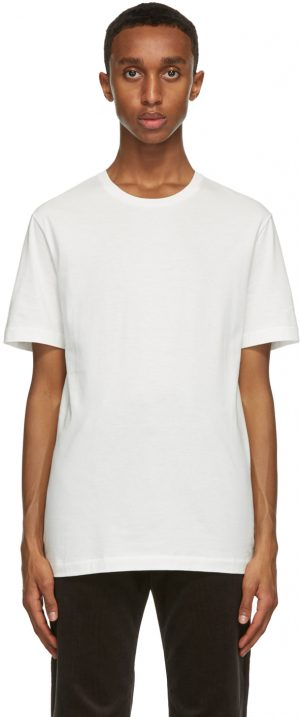 The Row White Luke T-Shirt