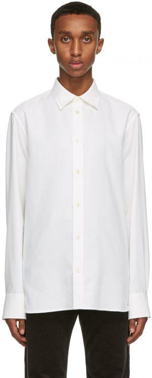 The Row White Robin Shirt