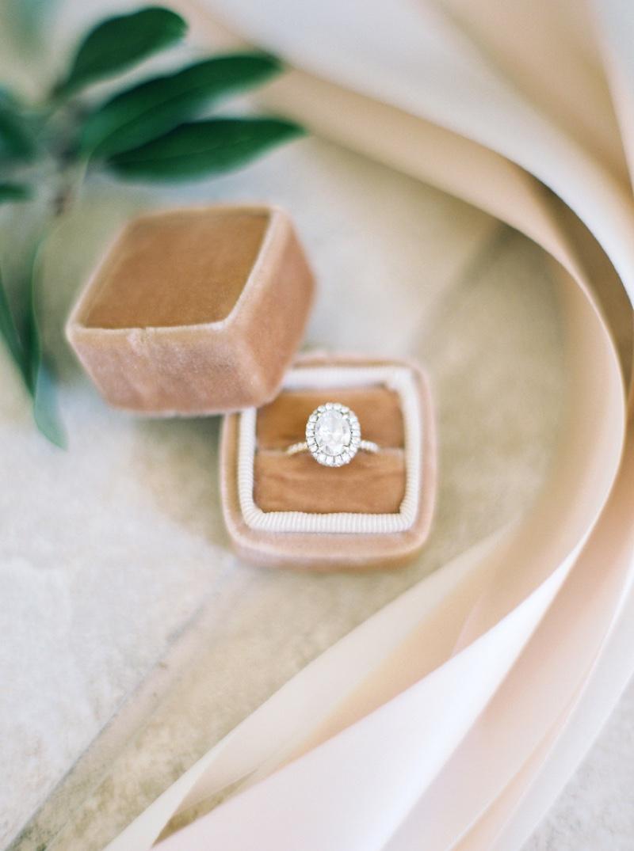 Unique Engagement Ring Box Oval Diamond