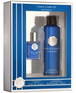 Vince Camuto Men's 2-Pc. Homme Body Spray Gift Set