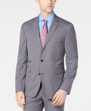 Vince Camuto Men's Slim-Fit Stretch Wrinkle-Resistant Suit Jackets