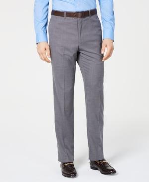 Vince Camuto Men's Slim-Fit Stretch Wrinkle-Resistant Suit Pants