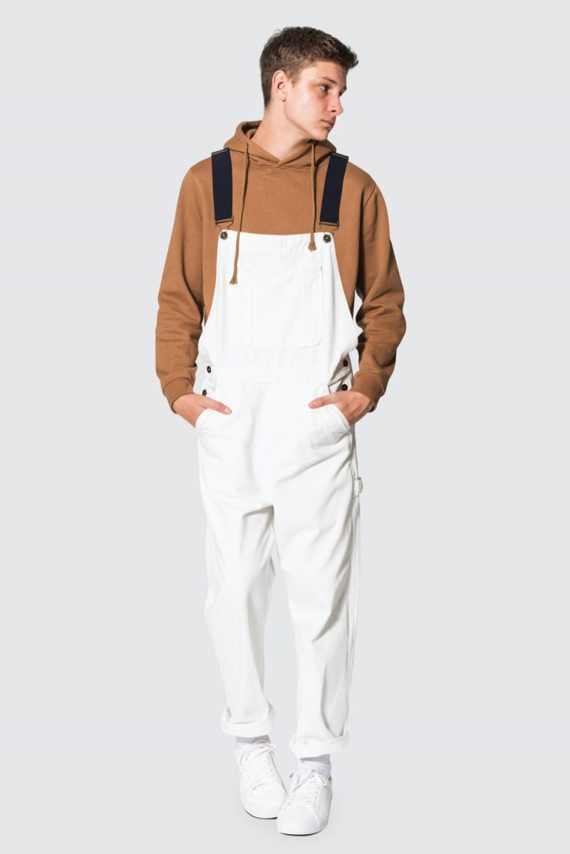 Young Man in Overalls