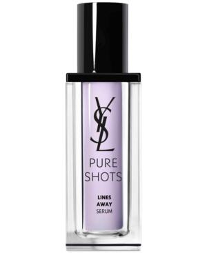 Yves Saint Laurent Pure Shots Lines Away Anti-Aging Serum, 1-oz.