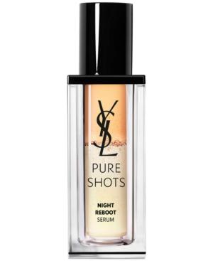 Yves Saint Laurent Pure Shots Night Reboot Resurfacing Serum, 1-oz.