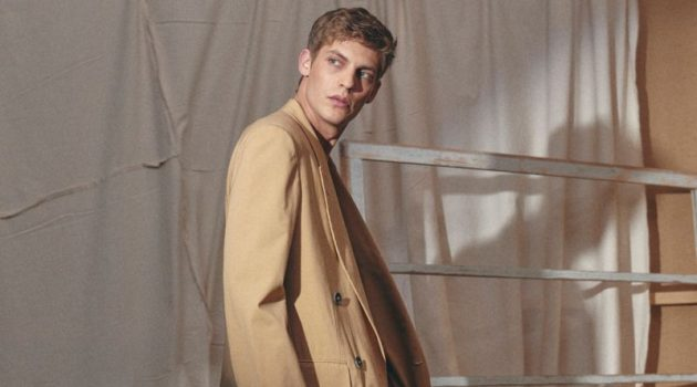 Baptiste Radufe Flaunts Spring Style for L'Officiel Hommes Italia