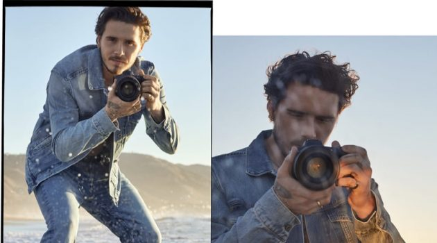 Brooklyn Beckham stars in a new campaign for Pepe Jeans' sustainable Wiser Wash denim.