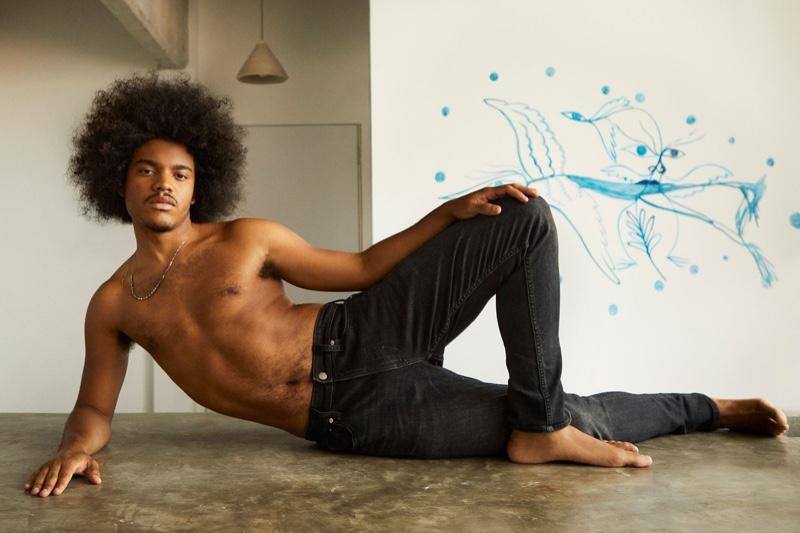 Samuel de Saboia stars in Calvin Klein's #proudinmycalvins campaign.
