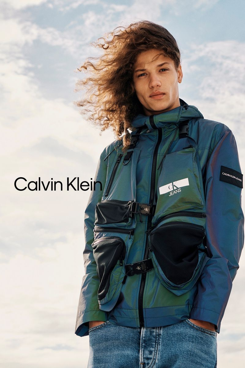 Front and center, Jaleen Oliver stars in Calvin Klein's spring-summer 2021 jeans campaign.