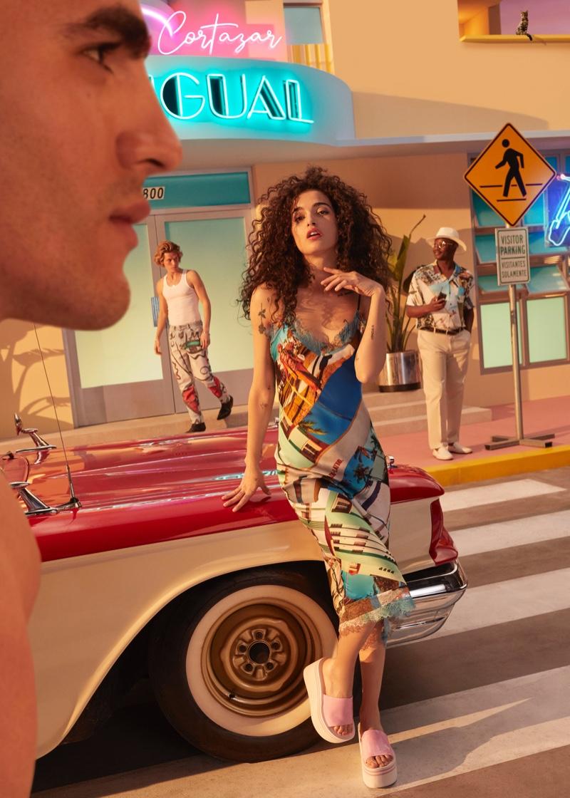 Desigual Captures the Spirit of Miami with Esteban Cortázar Collection