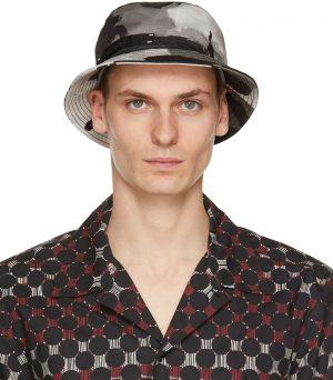 Dolce & Gabbana Khaki Camo Bucket Hat