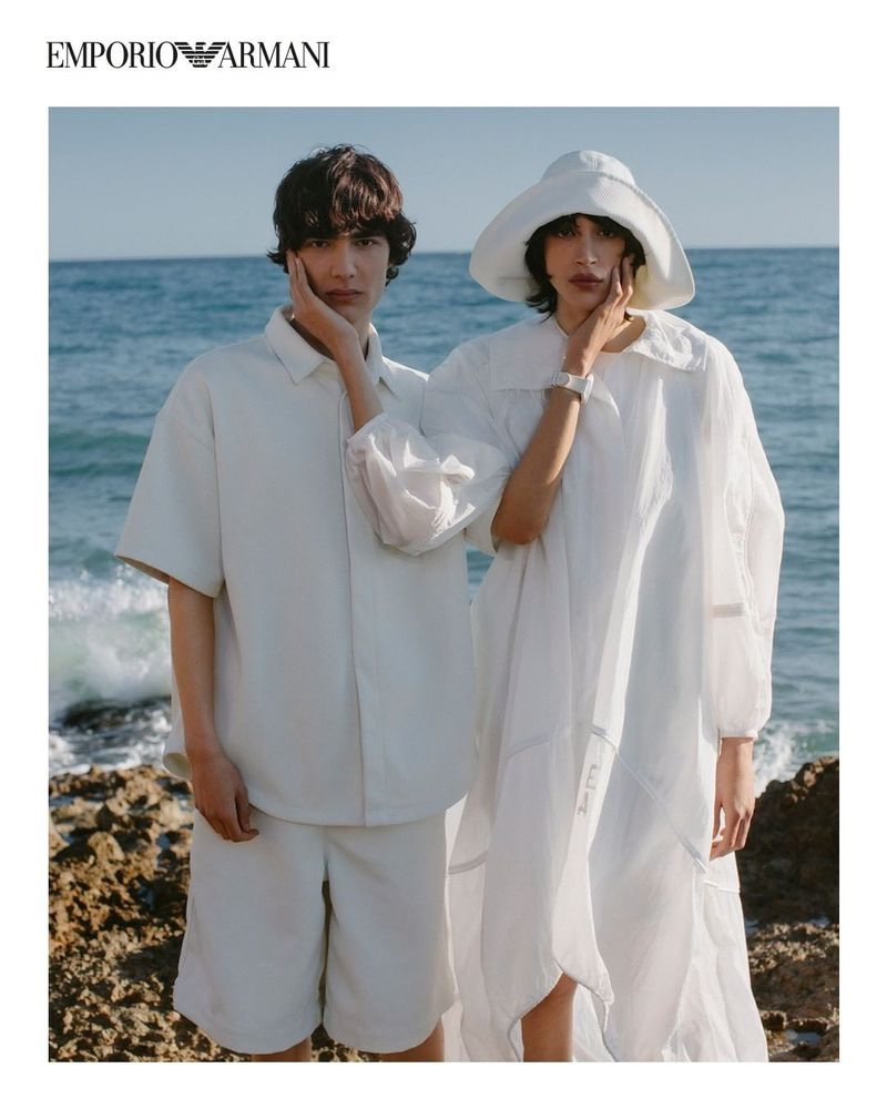 Emporio Armani Goes Nautical for Sustainable Capsule Collection