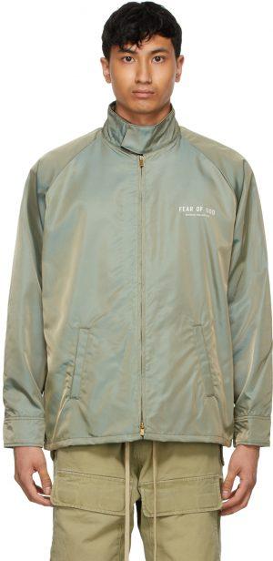 Fear of God Green Iridescent Souvenir Jacket