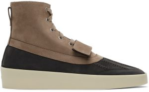 Fear of God Taupe & Black Duck Boots
