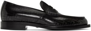 Fendi Black 'Forever Fendi' Loafers