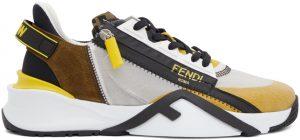 Fendi Multicolor Flow Sneakers