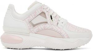 Fendi Pink 'Forever Fendi' Fancy Sneakers