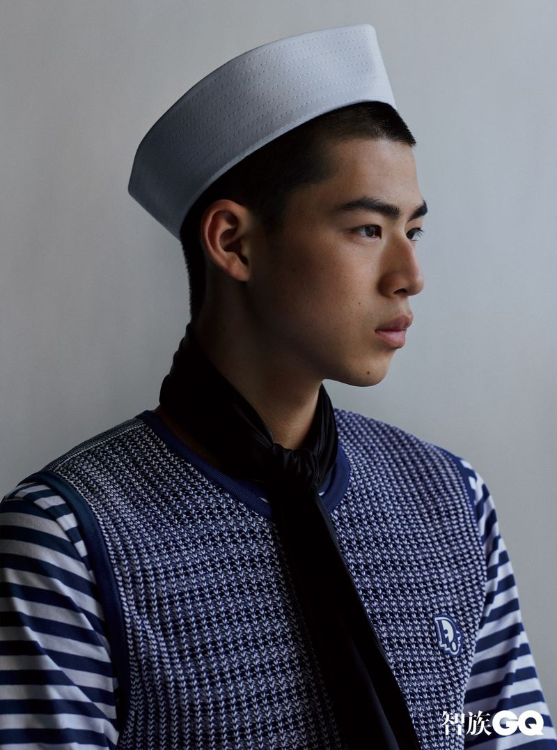 Ben Mao & Hua Hangxin Are Sailor Chic for GQ China