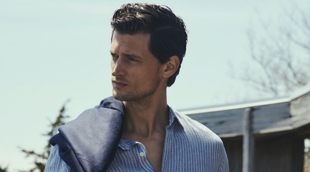 Garrett Neff Takes to South Hampton with Massimo Dutti
