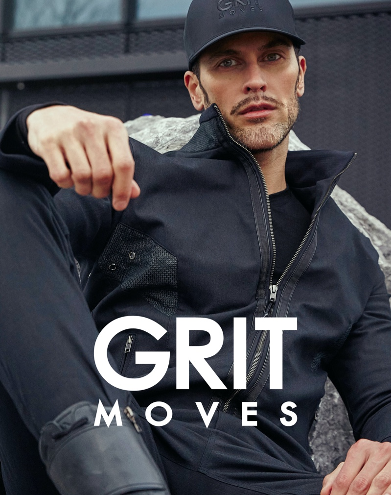 Pascal Bier fronts the new GritMoves campaign.