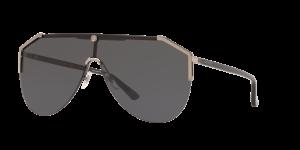 Gucci Man Gg0584s - Frame color: Gunmetal, Lens color: Grey-Black, Size 99-01/140