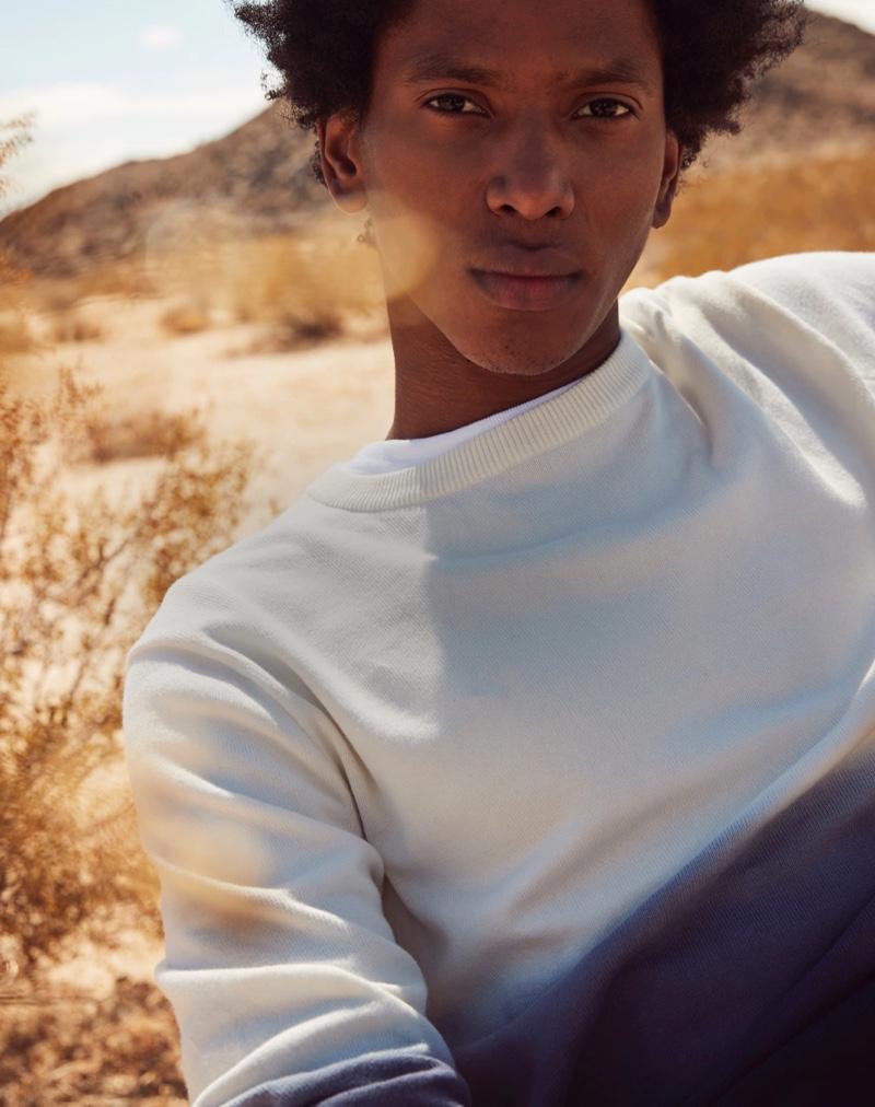 Miles Garber & Rafael Mieses Model J.Crew Summer Essentials