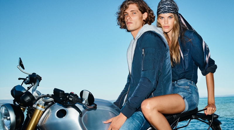 Umberto Villahermosa & Dan Zsolt Cruise with JOOP! for Spring Campaign