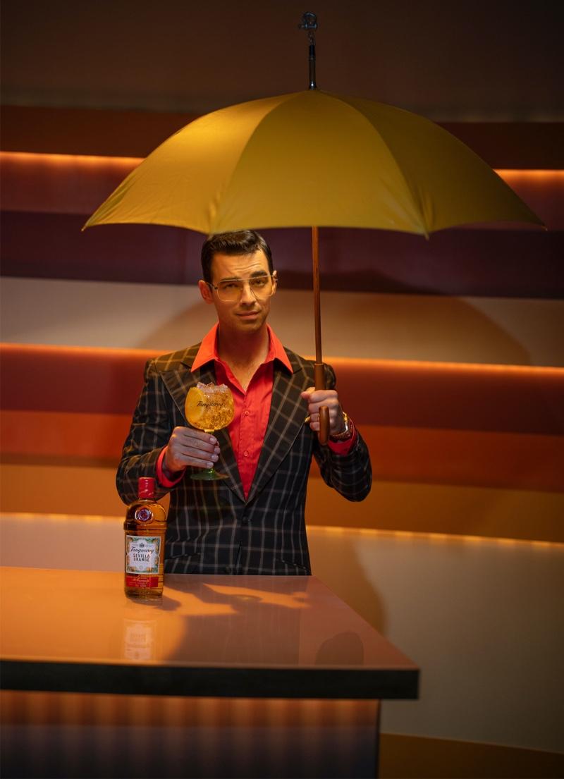 Singer Joe Jonas steps in as a weatherman for Tanqueray Sevilla Orange.