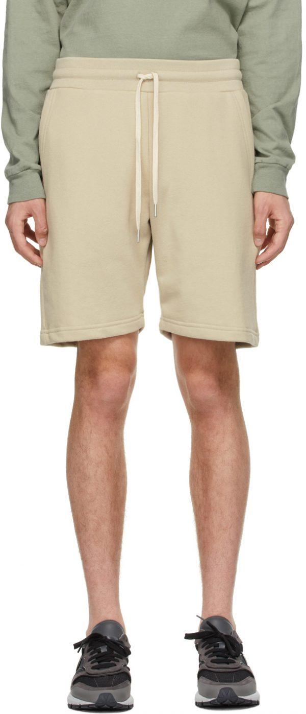 John Elliott Beige Crimson Shorts