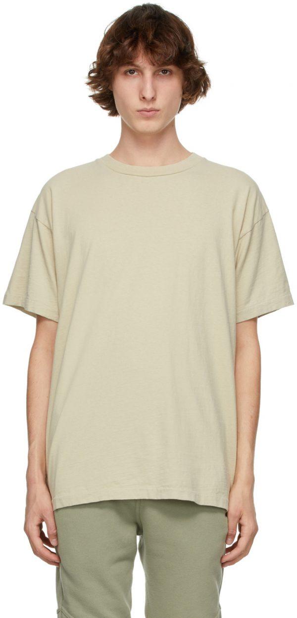 John Elliott Beige University T-Shirt