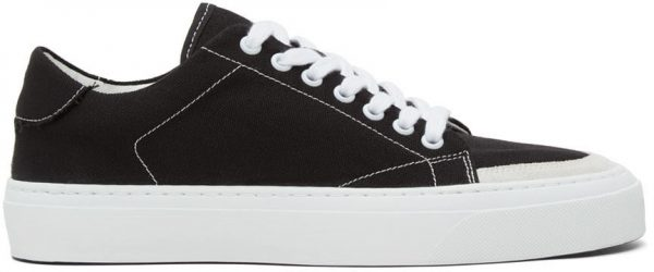 John Elliott Black Haze Low Sneakers