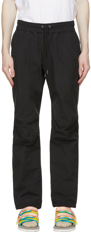 John Elliott Black Taffeta Trousers