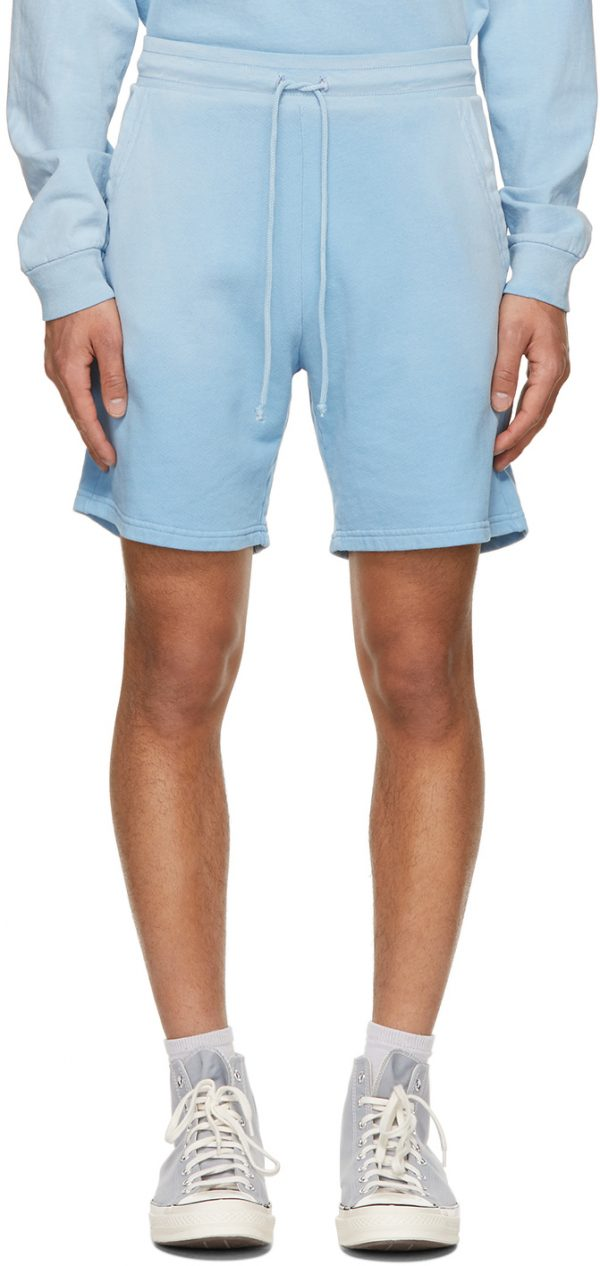 John Elliott Blue Exposure Shorts