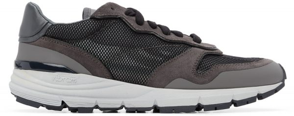 John Elliott Grey & Black Edition One Runner Sneakers