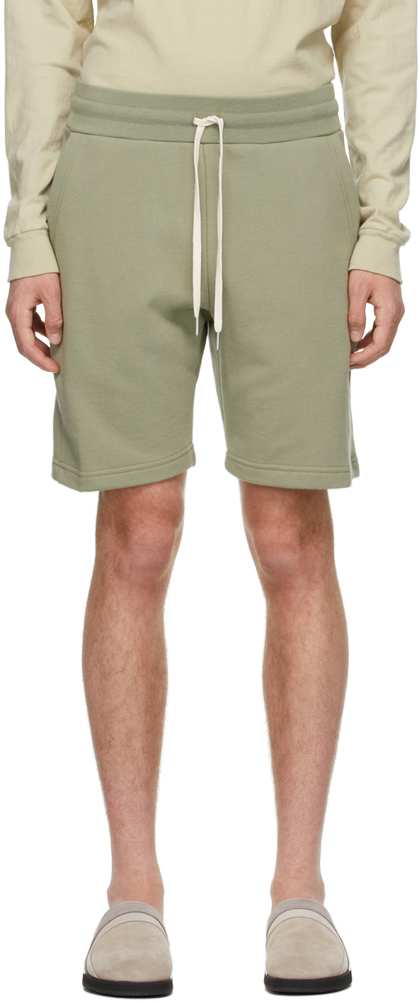 John Elliott Khaki Crimson Shorts