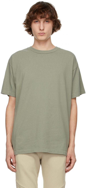 John Elliott Khaki University T-Shirt