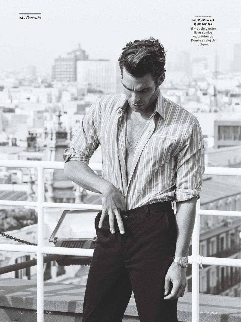 Jon Kortajarena Covers Vanity Fair España Green Issue