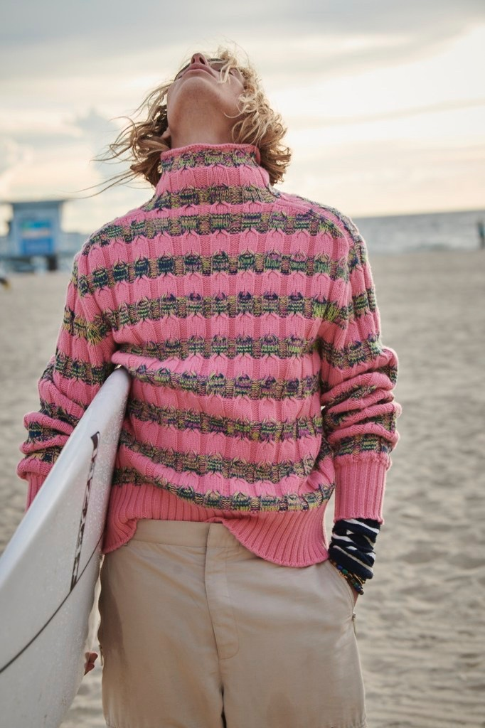 Lucas Ucedo Channels His Inner Surfer for GQ Style Russia