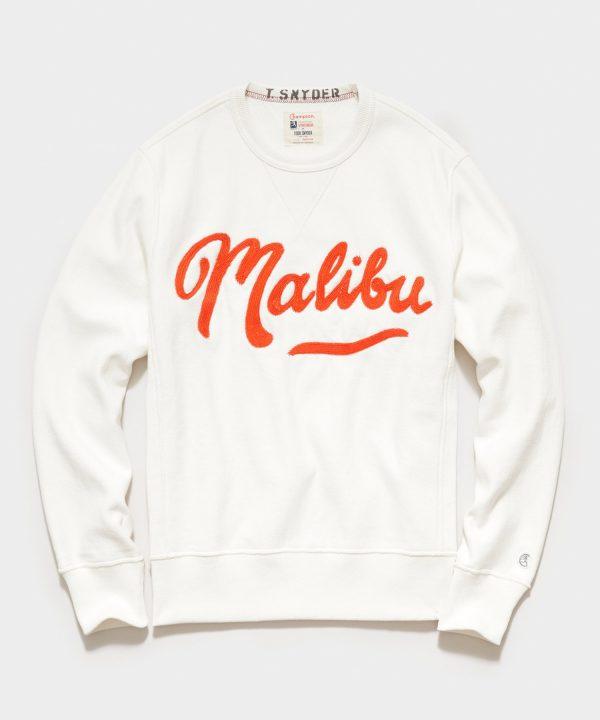 Malibu Sweatshirt in Antique White