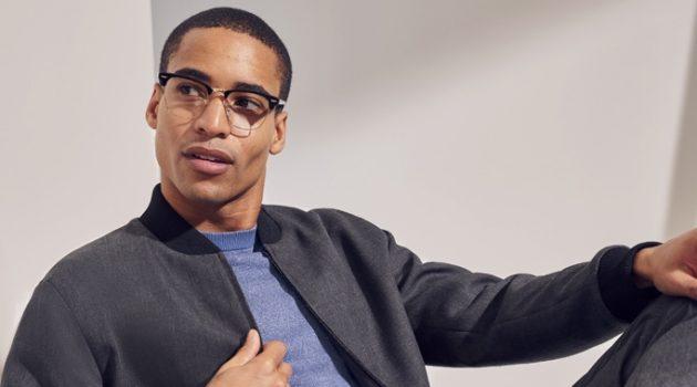 Malik Lindo Embraces Bloomingdale's Luxe Comfort Trend