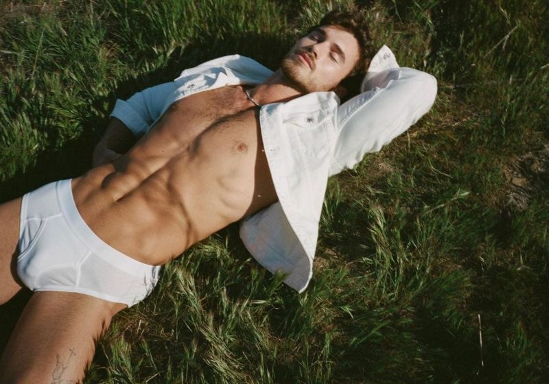 Michael Yerger Rocks GUESS for Man About Town