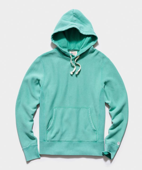 Midweight Popover Hoodie in Greehouse
