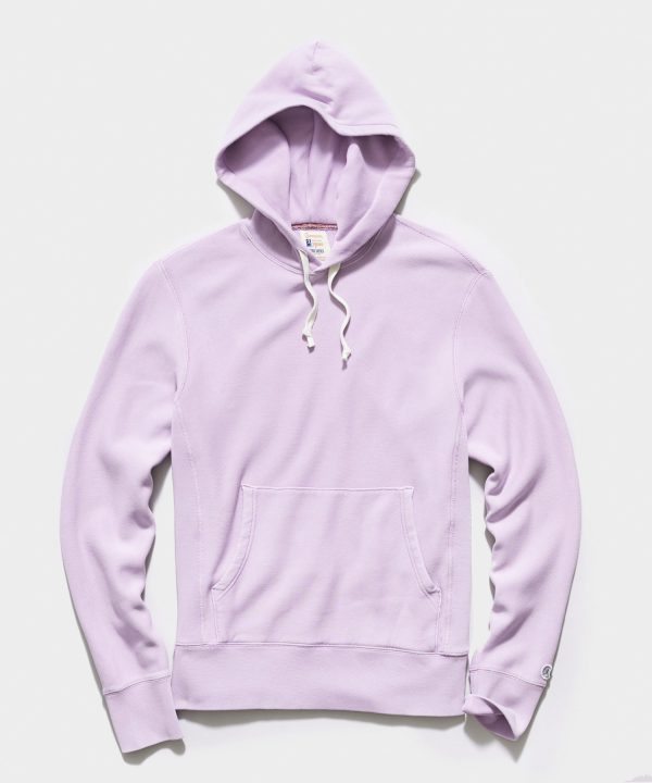 Midweight Popover Hoodie in Pale Violet