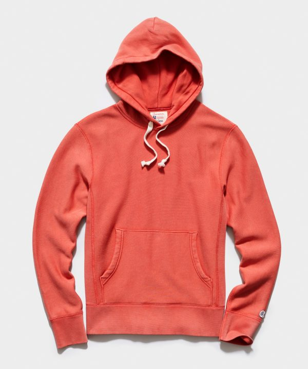 Midweight Popover Hoodie in Spicy Tomato