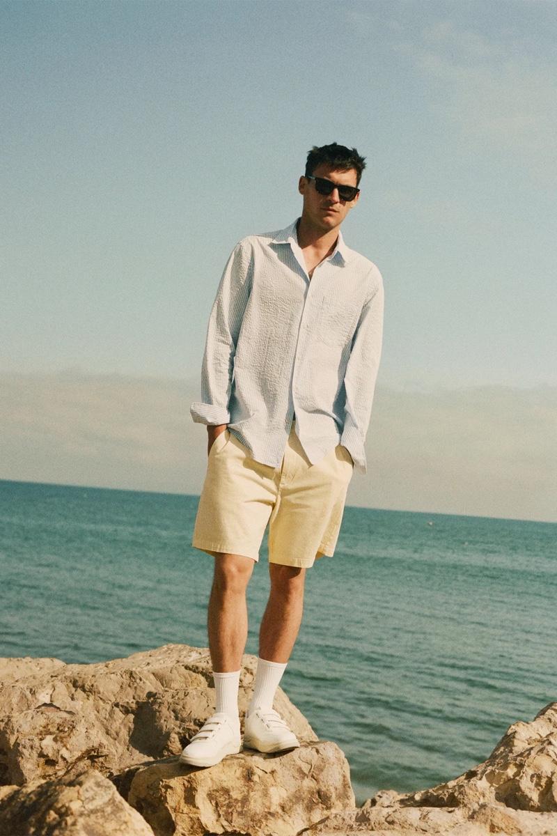 Miles Garber Inspires in Summer Style for Zara