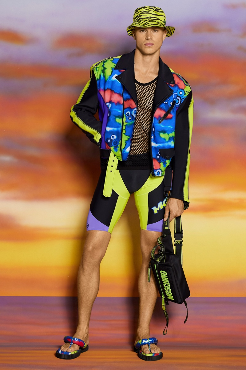 Jeremy Scott Champions the Surfer with Moschino Resort Collection