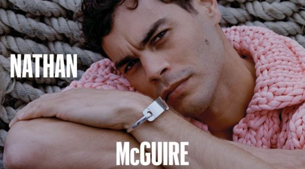 Nathan McGuire Dons Bottega Veneta for GQ Style Australia Cover Shoot