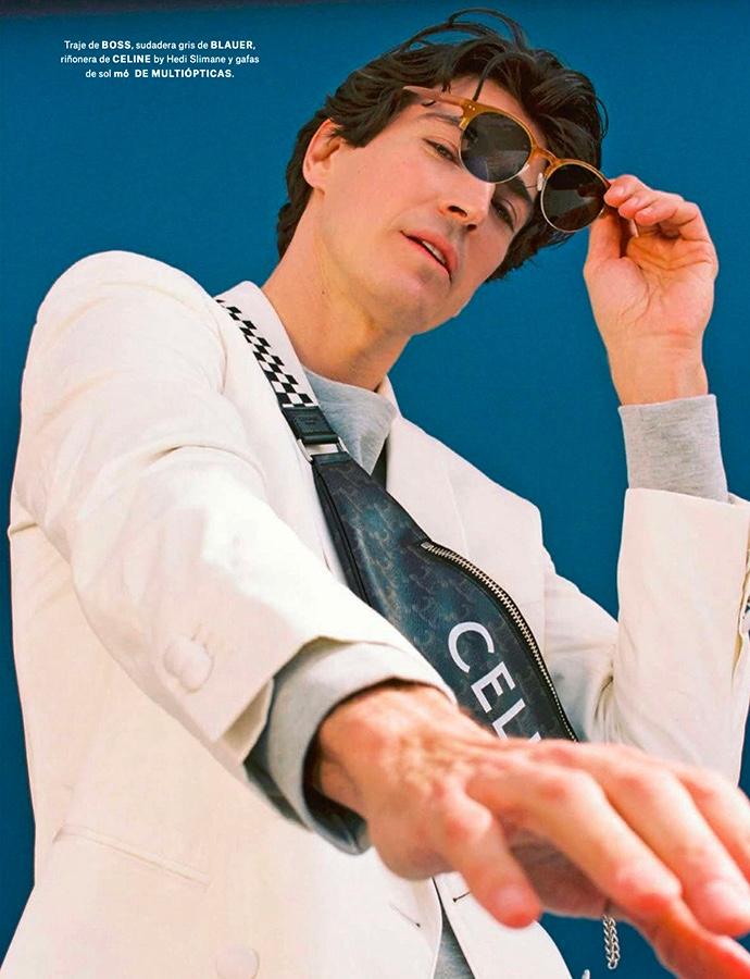 Oriol Elcacho Revels in Chic Style & Eyewear for Forbes España