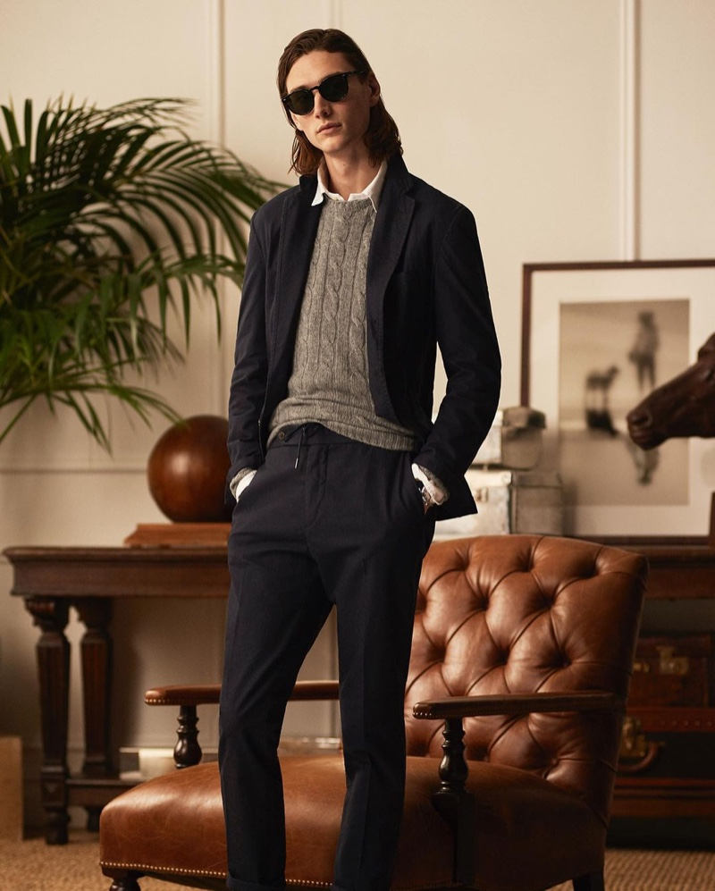 Hamid, Wellington & Dae Embrace Sophisticated Style in POLO Ralph Lauren